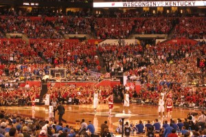 An epic semi-final between Wisconsin and Kentucky