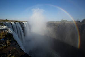 The Victoria Falls in all its glory