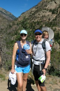RMNP's Cub Lake hiking trail