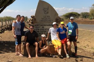 The Lewa marathon team