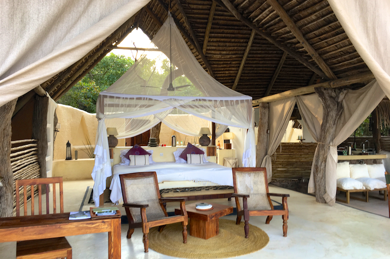 Open-air accommodations at Kiba Point & Tanzania | Stephen Cunliffe