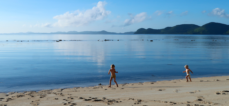 Child-friendly Philippines is an unbeatable destination for beach-loving young families