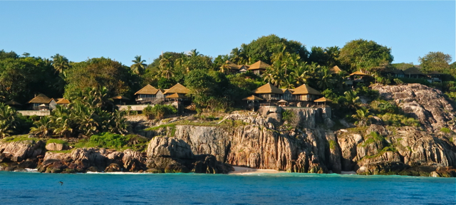The luxurious villas perched high on Fregate Island Private