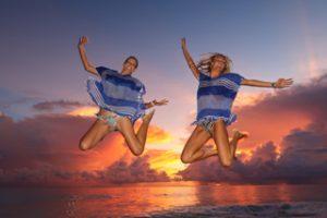 Seychelles sundowners