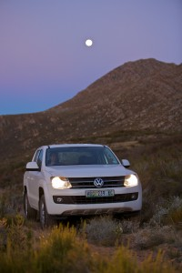 The VW Amarok dominated the trail