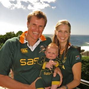 Supporting our Springboks against Scotland