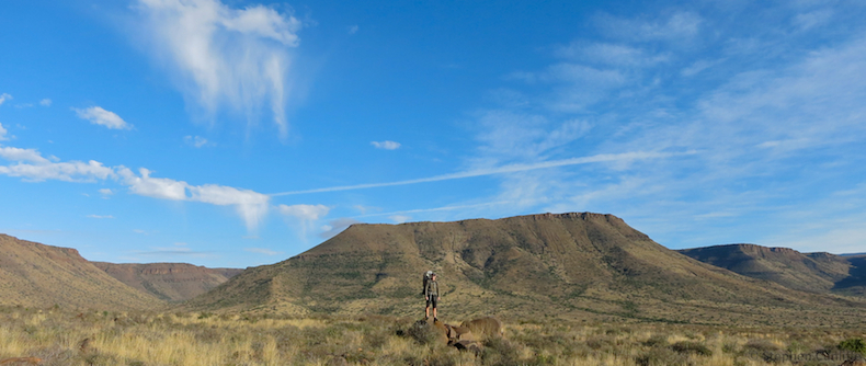 Exploring the self-guided Bossie Hiking Trail in the Karoo National Park