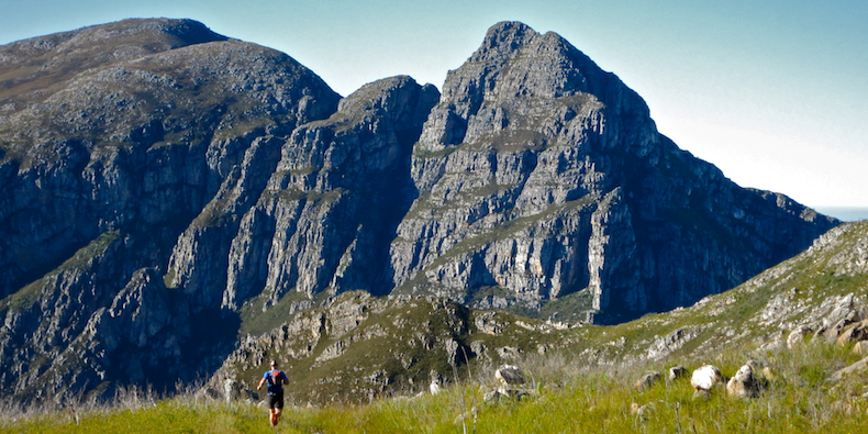 Running wild on the mountainous trails of the scenically spectacular Grootvadersbosch World Heritage Site