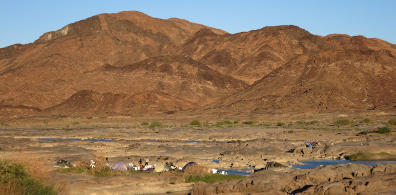 The sensational arid wilderness settings for a memorable overnight camp