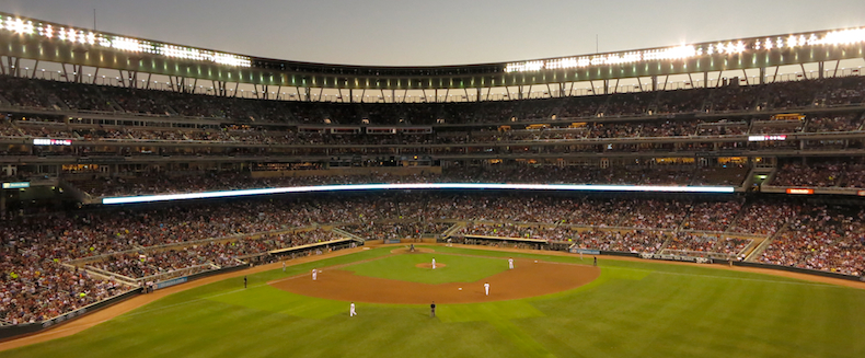 Twins thrash the Yankees 11-1 on a balmy summer's evening in Minneapolis