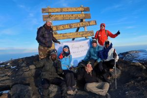 SGF team on the summit