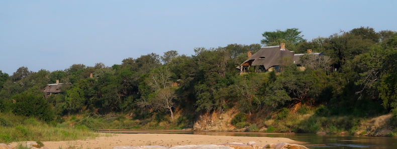 Both Singita Ebony and Singita Boulders enjoy enviable locations perched overlooking the languid Sand River
