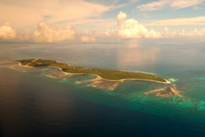 Desroches Island from the air