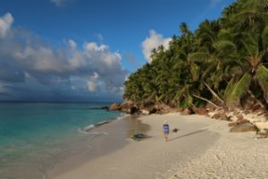 Fregate beaches rival the very best in the world